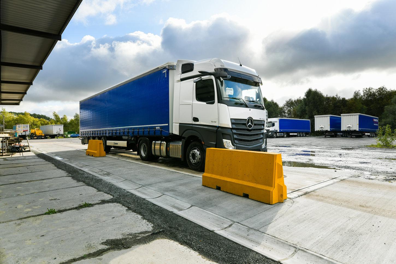 Sunkvežimių svarstyklės